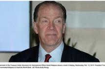 David Malpass as World Bank chief should please Democrats AND Republicans (but not China)
